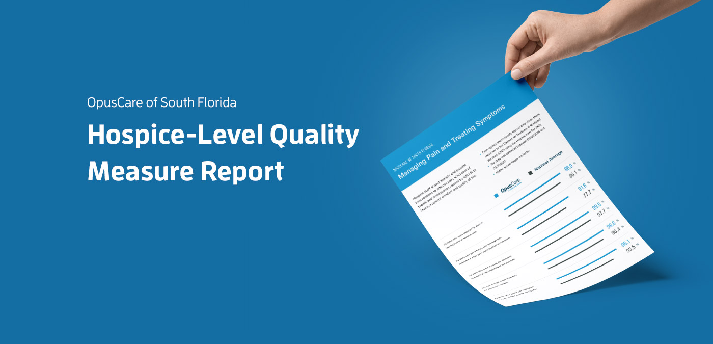 Hospice-Level Quality Measure Report