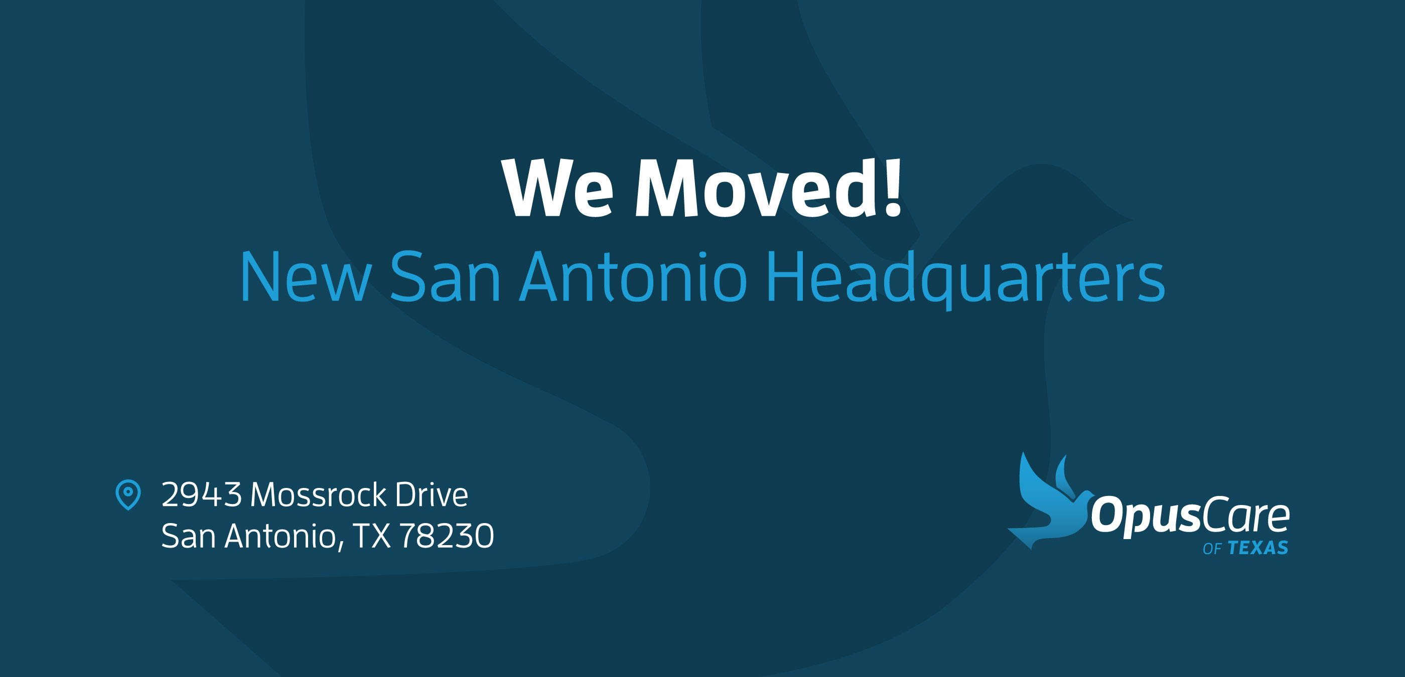 Coming Soon -- New San Antonio HeaderQuarters -- 2943 Mossrock Drive, San Antonio, TX 78230