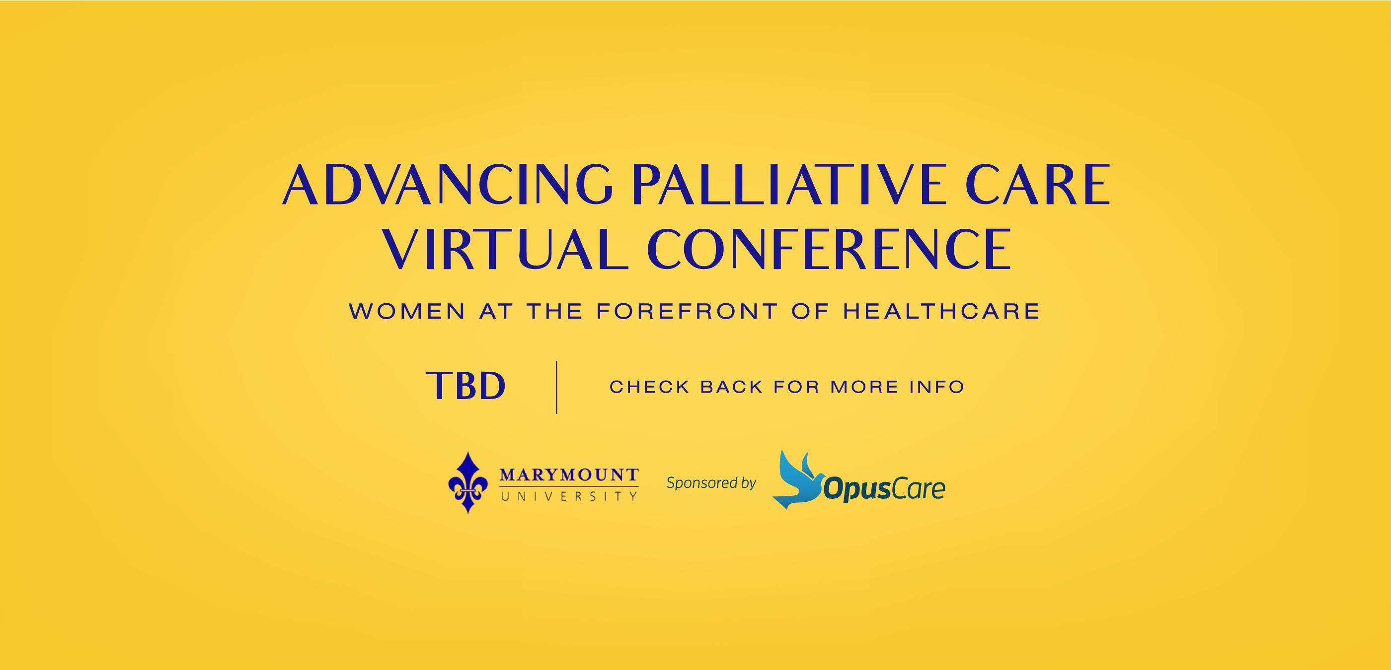 Advancing Palliative Care Virtual Conference desktop banner